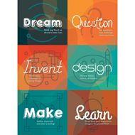 Maker Space Etiquette Poster PD137-2117