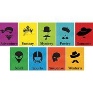 Silhouette Genre Mini Poster Set of 10