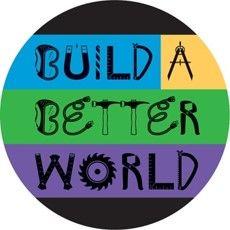 Build A Better World Buttons PD137-2909