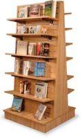Book Display Furniture A-Frame Slatwall Display shelves