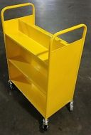 Economical Steel Book Trolley 6 Slopping