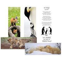 Together Forever Animal Bookmarks