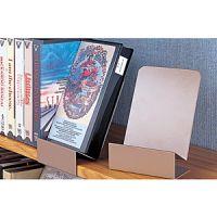 Steel Clip On Shelf Large Book Display Holder