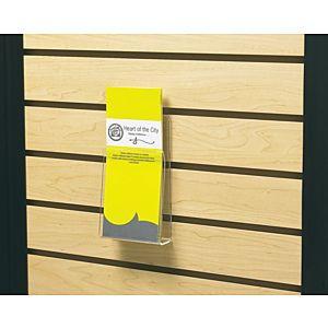 Flexible Acrylic Slatwall Pamphlet Pocket