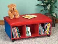 Mobile Bench Book Shelves