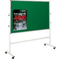 Mobile Pin-on Bulletin Board 90x120cm 6PMTC14-90120