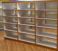 Classic Laminate wood Deluxe Book shelves Package A