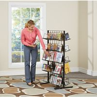 Free Standing Wire Aisle Display Rack PD146-0380