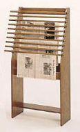 Classic Newspaper Display Rack