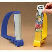 Book Stop Section Marker Label Holder