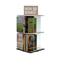 Tabletop Acrylic Book & DVD Display