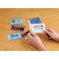 Clear ID Card Sleeves