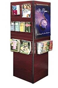 Information Kiosk with Slatwall and Softboard