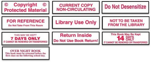Circulation Classification Economical Labels 3/4