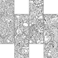Colouring Activity Bookmark PD137-3796