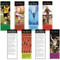 Sport Fun Facts Bookmarks 200/pack