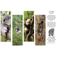 Hanging Out Animal Fun Bookmarks