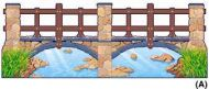 Big Stone Bridge Bulletin Decorative Set