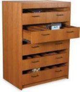 Classic High capacity CD/DVD cabinet. 9PMTB869-60336