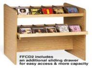 Classic single side CD Flipper Rack- 2 tiers. 12PMTB677-60751S2