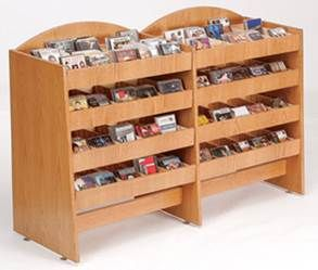 CD DVD Display Rack