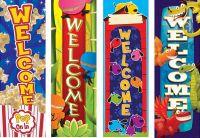 Decorative Vertical Banner
