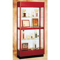 Two Level Glass Display Case