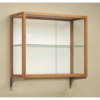 Wall Mount Glass Cases