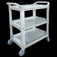 Economy Large Plastic 3 Level Utility Cart 17PMTAMK-1183