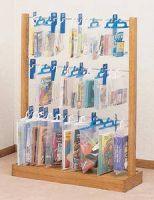 Wooden Hanging Bags Display Rack-3 Tiers