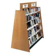 Open Top Design Laminate Wood Book Shelves