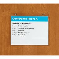 Acrylic Wall Mount Sign Holder A4 size. PD127-5417