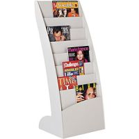 Paperflow Curved Floor Literature 8 Pockets Display. PD137-5641