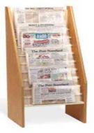 Cascading Design Newspaper Rack. 5PMTG556