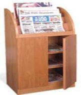 Newspaper Display Cabinet with Door 16PMT840-7952