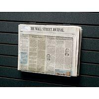Acrylic Slatwall Newspaper Holder