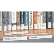 Adhesive Shelf Label Holder 1/2