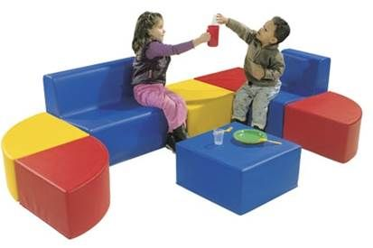 Kids Sofa & Ottoman