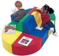 Kid Sofa 8 pcs Train Set Adult Size. 14PMTB395-28712A