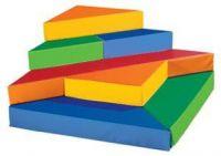 Kids Triangle Podium Cushion Set. 9PMT468-0728