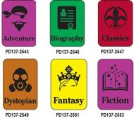 Silhouette Genre Subject Classification Labels A to F